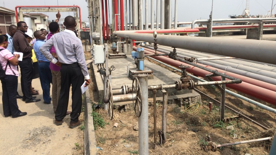 Survey exercise for rehabilitation of petroleum products off-loading facilities in Lagos