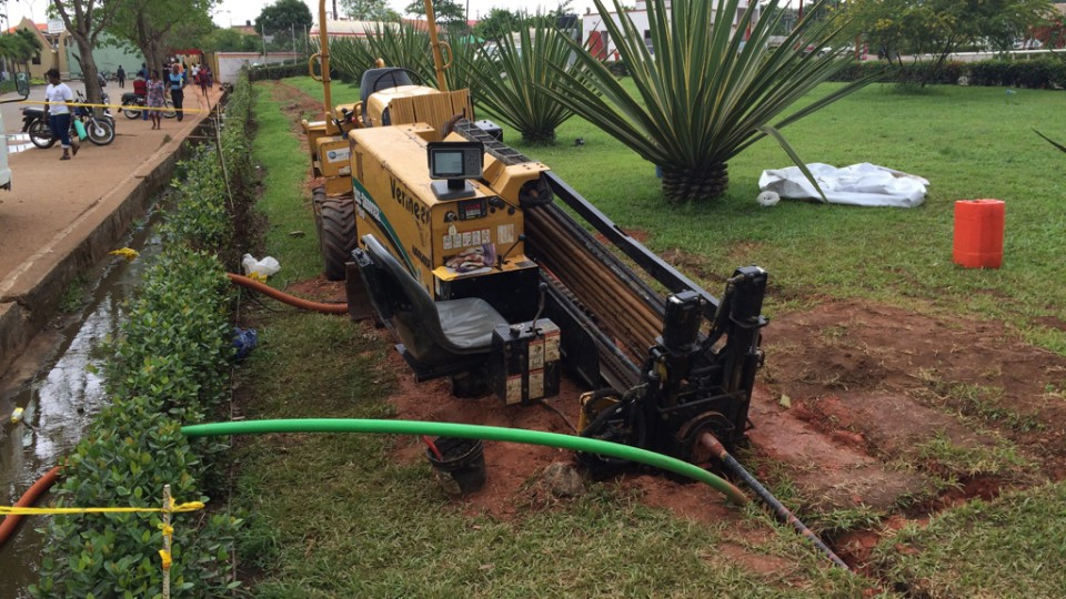 Horizontal directional drilling in Ogun State